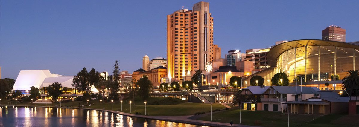 image of adelaide city