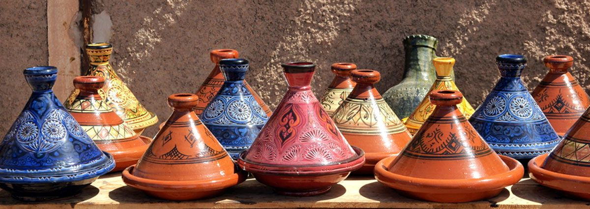 Image of handmade work in Casablanca