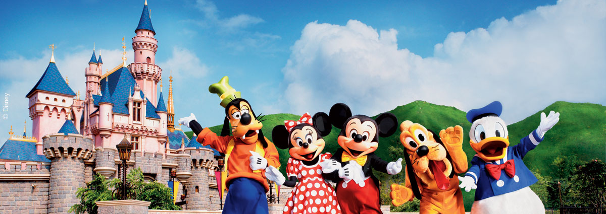 Qatar Airways Holidays Family packages at Hong Kong Disneyland