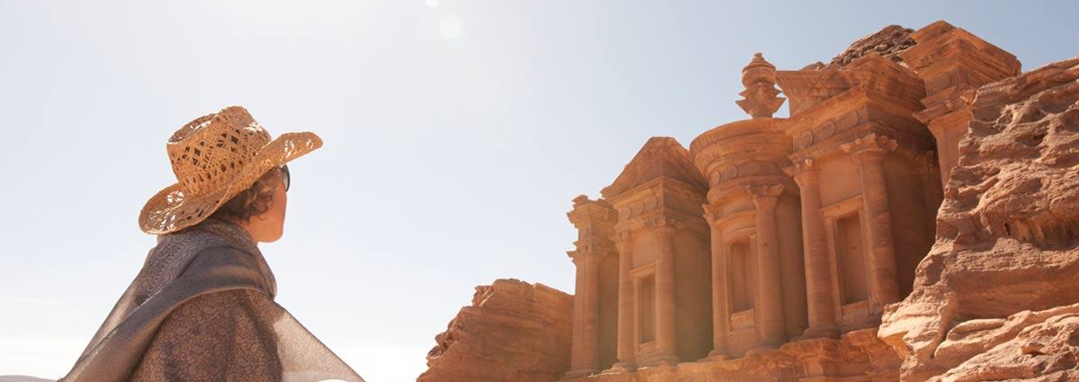 image of jordanian petra