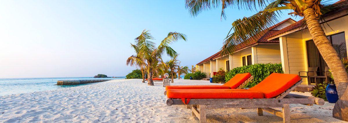 image of maldives resort villas