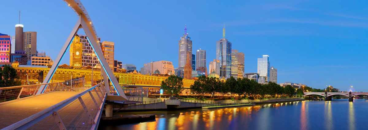 image of melbourne city