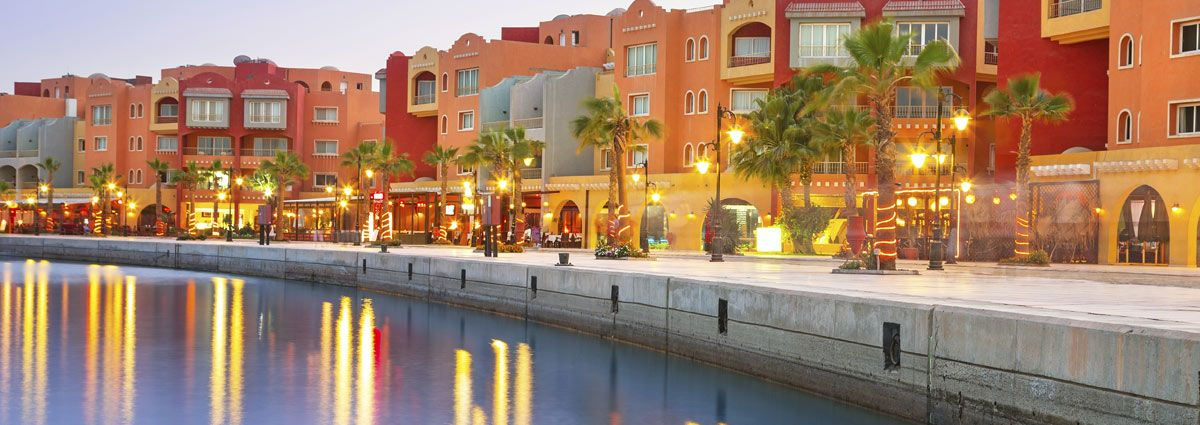 Image of night life in Hurghada