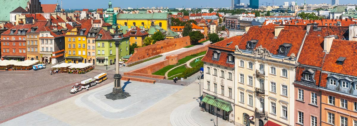Holiday packages & Hotels in  Warsaw