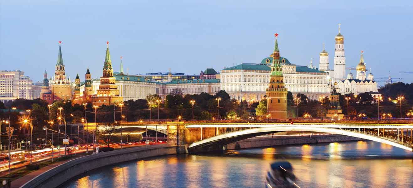 Holiday packages & Hotels in  Russia