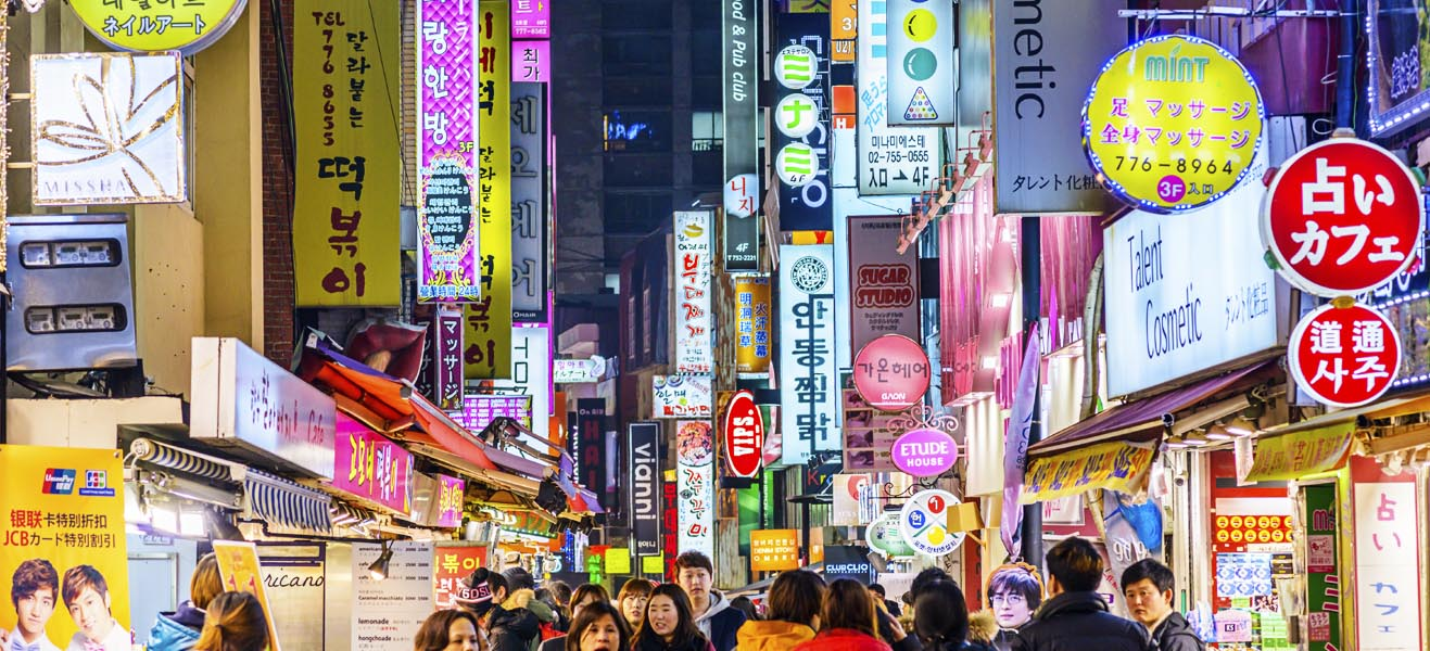 Holiday packages & Hotels in  South Korea
