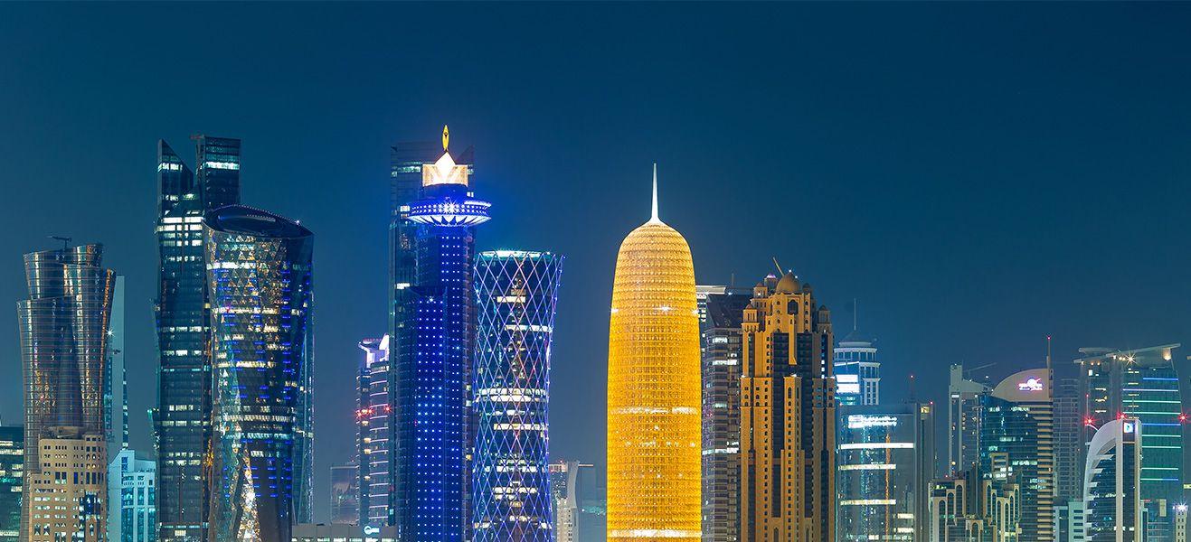 image of doha city