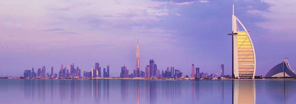 image of dubai skyscrapers